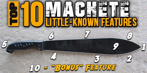 Top Ten Machete Tricks That You Don't Know Plus TORTURE TEST Video